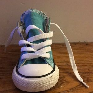 Teal Infant Converse